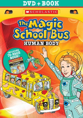 The Magic School Bus: Human Body (With Book) (DVD)
