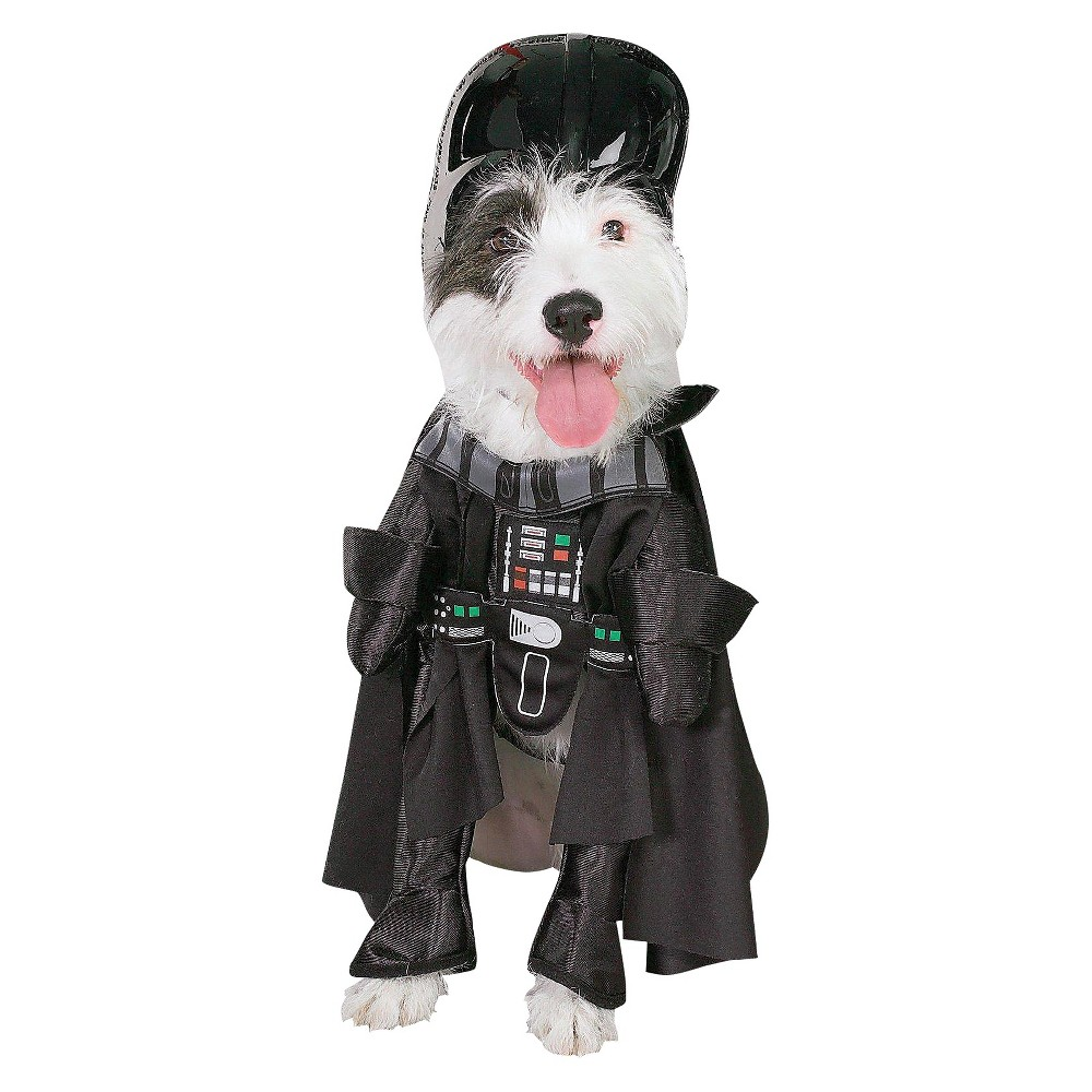 Star Wars Darth Vader Dog Costume - Large, Multicolored