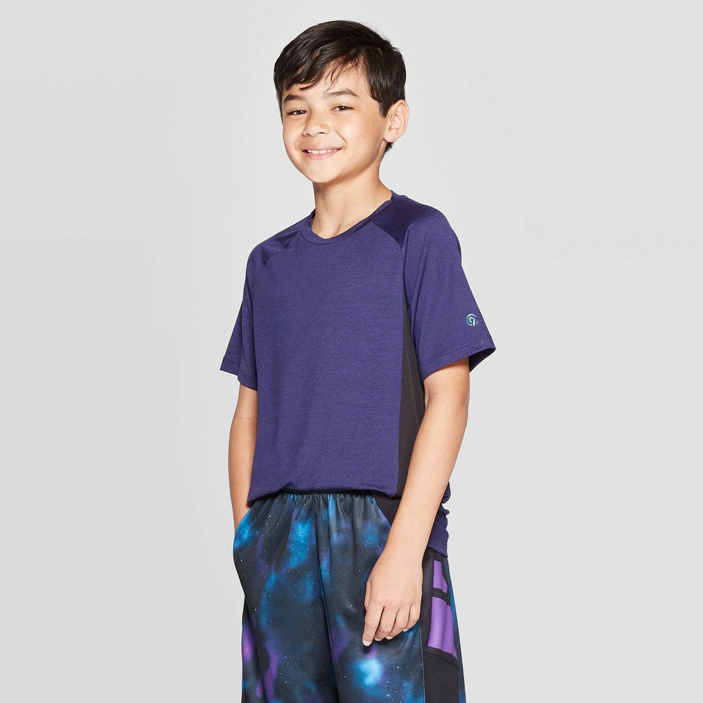 Image of Boys' Premium Super Soft Tech T-Shirt - C9 Champion Blue L, Boy's, Size: Large
