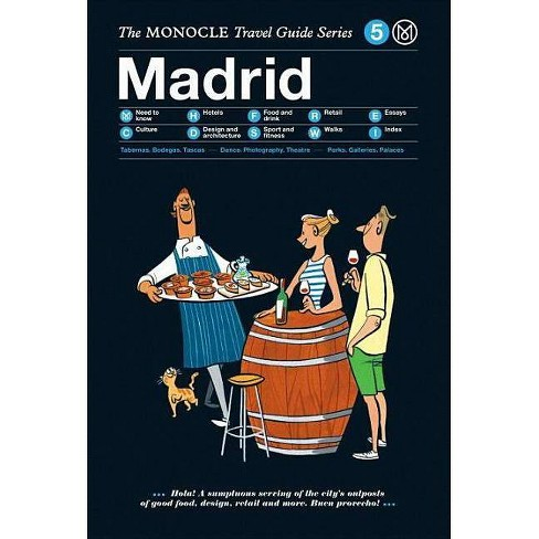 The Monocle Travel Guide to Madrid - (Monocle Travel Guides) (Hardcover) - image 1 of 1