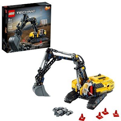 LEGO Technic Heavy-Duty Excavator Building Toy 42121
