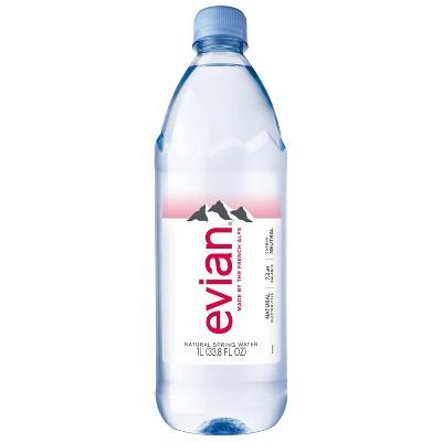 Evian Natural Spring Water - 33.8 fl oz Bottle