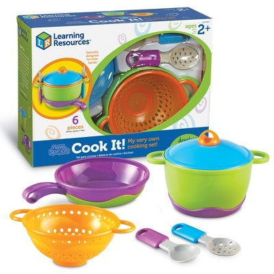 Learning Resources New Sprouts Cook it!, 6 Pieces, Ages 2+