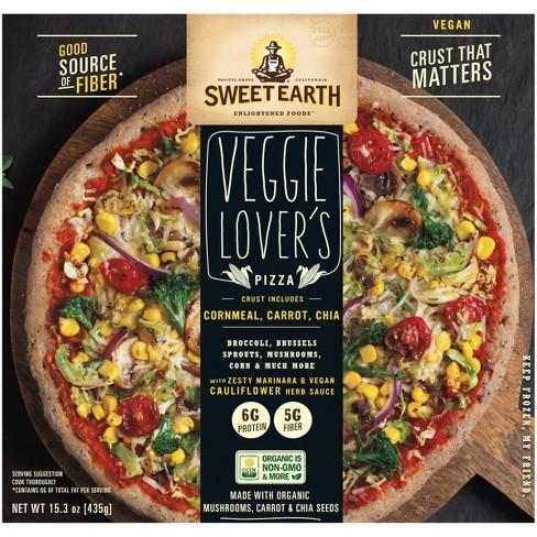 Sweet Earth Vegan Veggie Lovers Frozen Pizza - 15.3oz - image 1 of 4