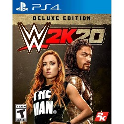 WWE 2K20: Deluxe Edition - PlayStation 4