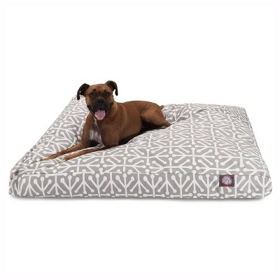 Majestic Pet Aruba Rectangle Dog Bed - Gray - Extra Large - XL