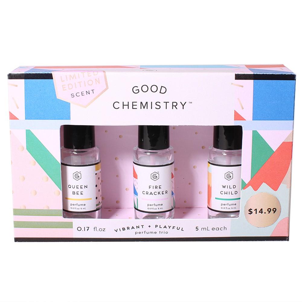 Good Chemistry Rollerball Fragrance Gift Set - 3pc - .68 fl oz