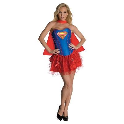 Adult DC Comics DC Super Hero Girls Supergirl Halloween Costume L
