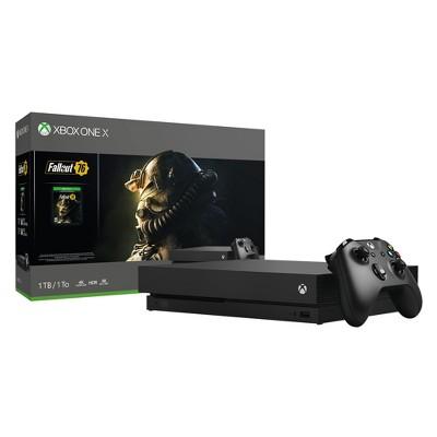 Xbox One X 1TB Fallout 76 Bundle