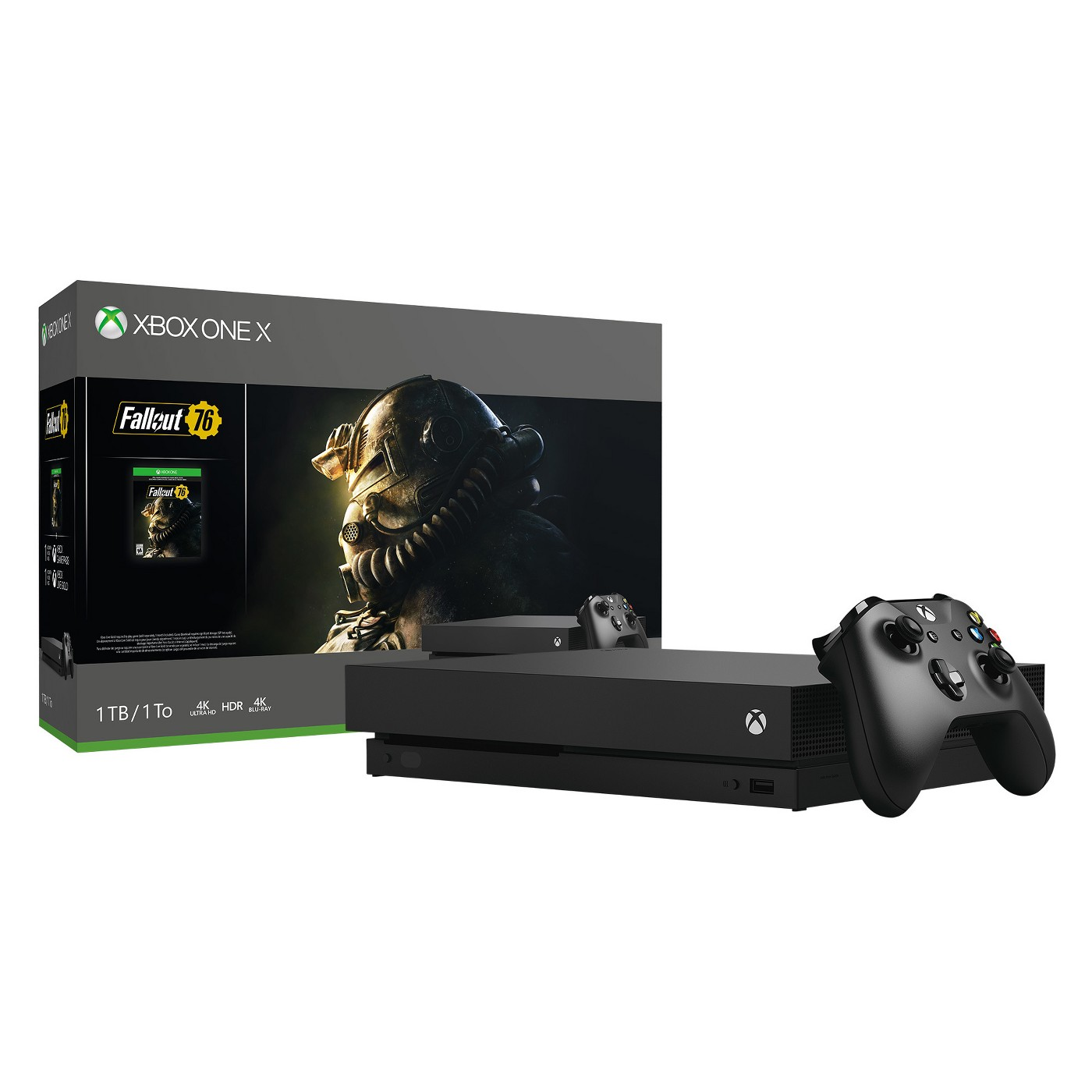 Save 20% on Xbox One X 1TB Fallout 76 Bundle