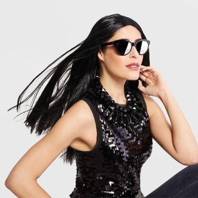 Adult Long/Sleek Black Halloween Wig - Hyde & EEK! Boutique™