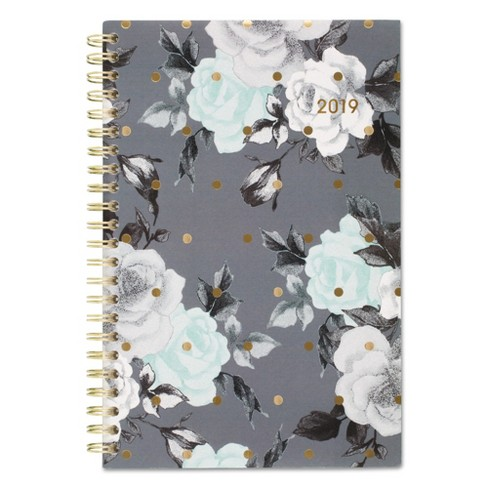 "2019 Planner 5""x 8"" Tea Time Gold/White - Cambridge - image 1 of 2"