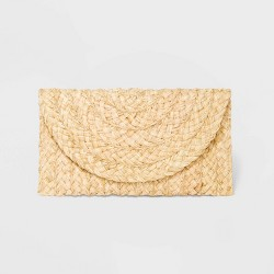Straw Clutch - Universal Thread™ Natural