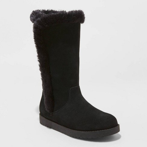 Women's Daniela Suede Tall Boots - Universal Thread™ - image 1 of 3