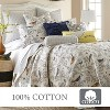 Mockingbird Toile Quilt and Pillow Sham Set - Levtex Home - image 4 of 4