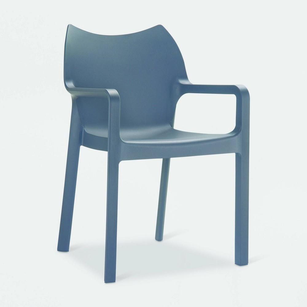 Diva 2pk Patio Chair - Black - Resol