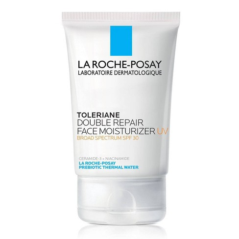 La Roche-Posay Toleriane Double Repair UV Face Moisturizer with Sunscreen and Niacinamide – SPF 30 – 2.5oz - image 1 of 4