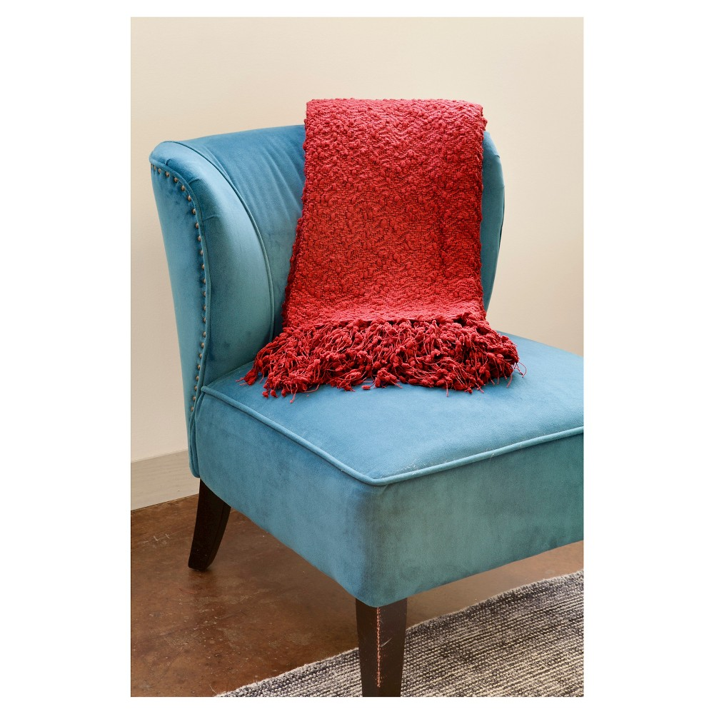 """Image of """"Red Popcorn Throw (50""""""""X70"""""""") - John F. By Feizy"""""""