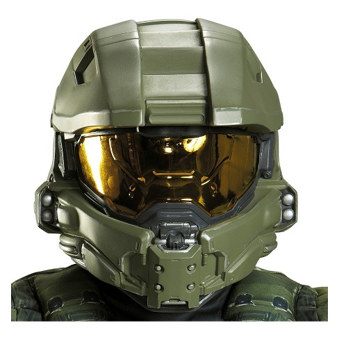 Kid's Halo Master Chief Costume Helmet - image 1 of 1