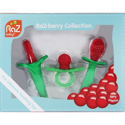 Razbaby RaZberry Teething Collection Gift Set