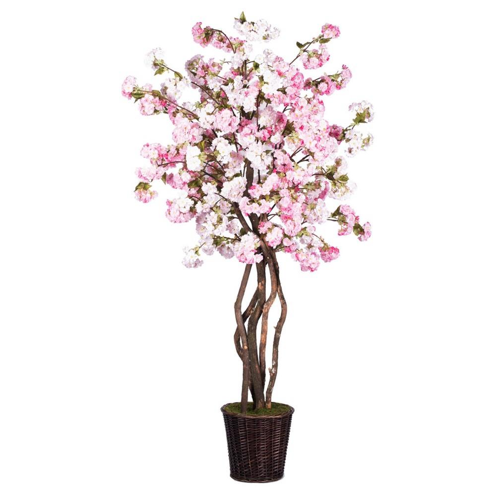 Artificial Cherry Blossom Heartland (6ft) Pink - Vickerman