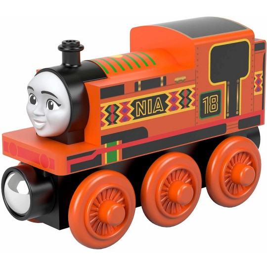 Fisher-Price Thomas & Friends Wood Nia Engine image number null