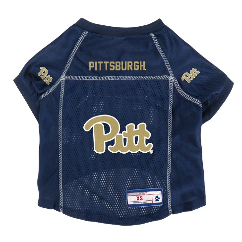 Pitt Panthers Little Earth Pet Football Jersey - M   Target f9067a575