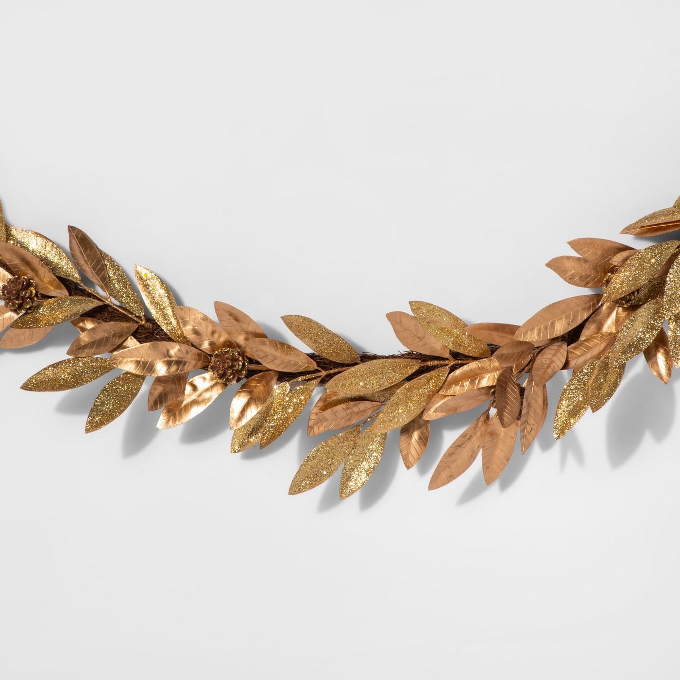 target gold garland
