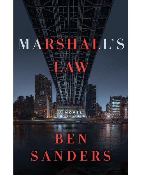 Marshall's Law -  (Marshall Grade) by Ben Sanders (Hardcover) - image 1 of 1