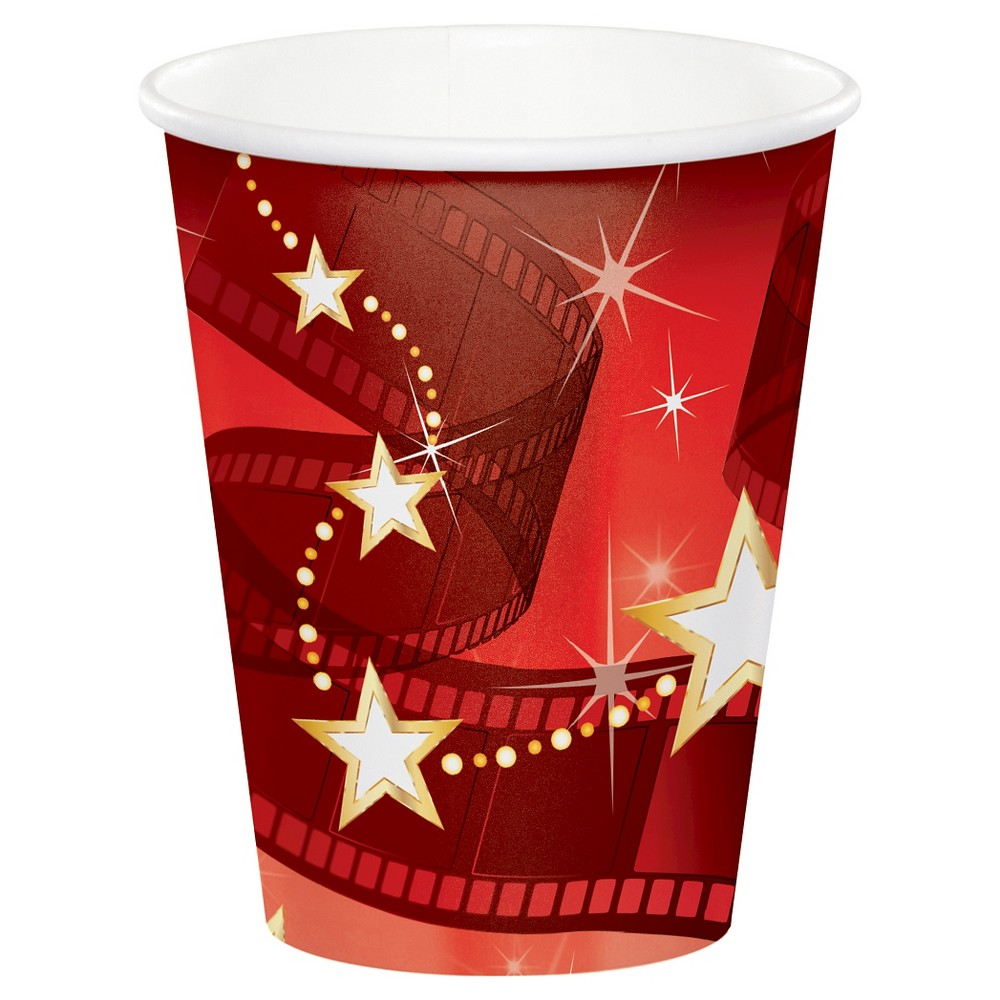 8ct Hollywood Lights Cups