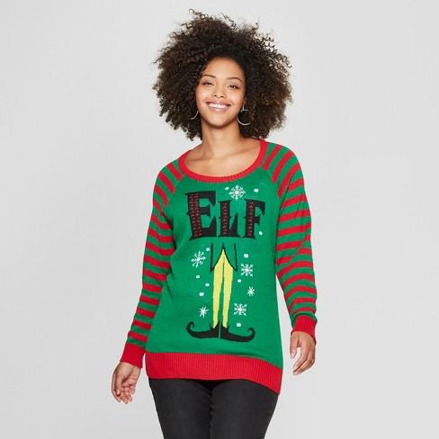 5a768999e45 affordable sequin santa claus plus size christmas sweater. plus size ...