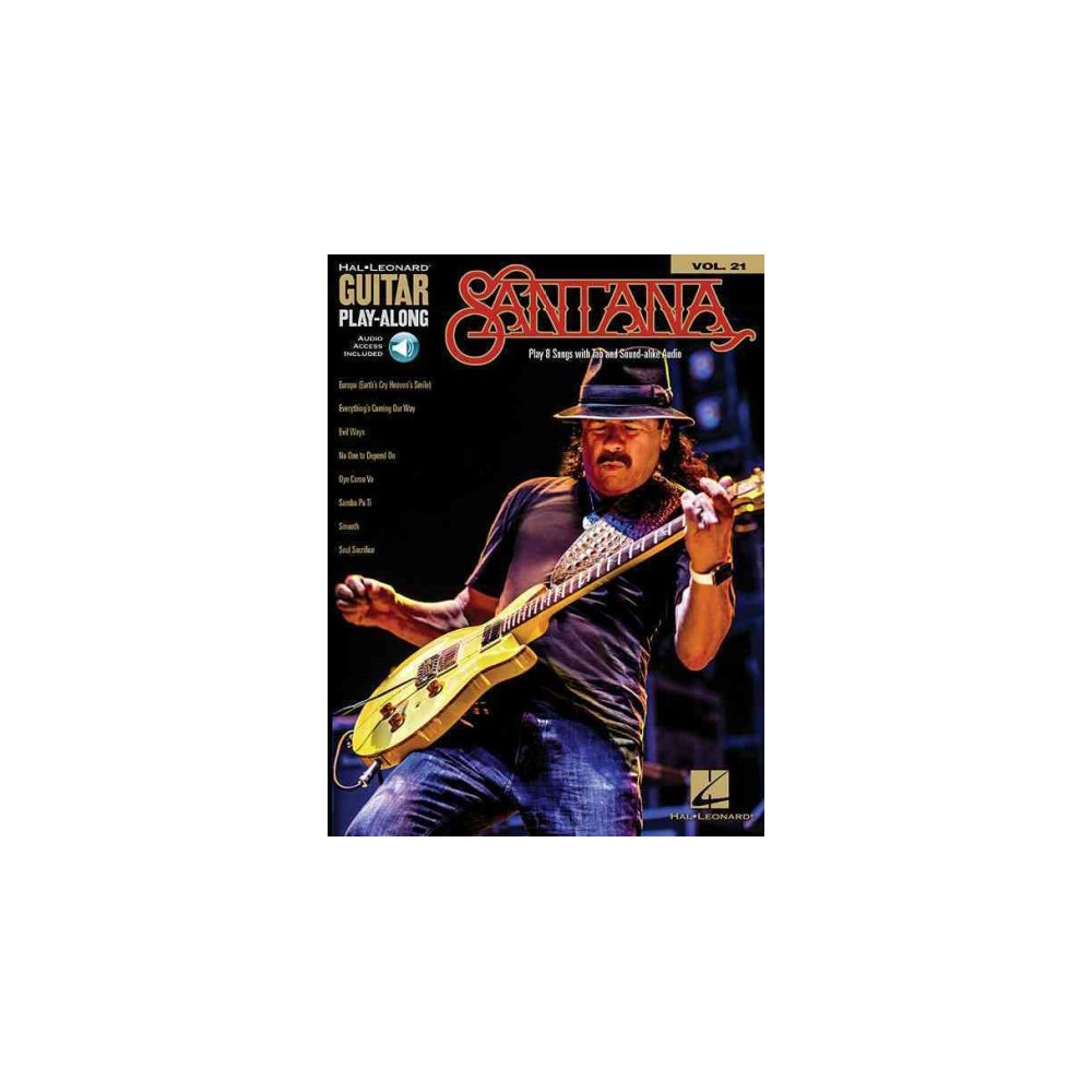 Santana : Includes Downloadable Audio (Paperback)