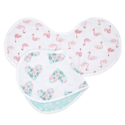 Aden By Aden + Anais Essentials Bib - Briar Rose - 2pk