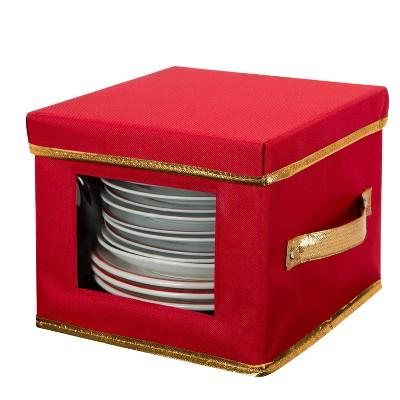 Salad Plate Dinnerware Storage Box - Simplify
