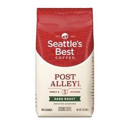 Seattle's Best Post Alley Dark Roast Ground Coffee - 12oz