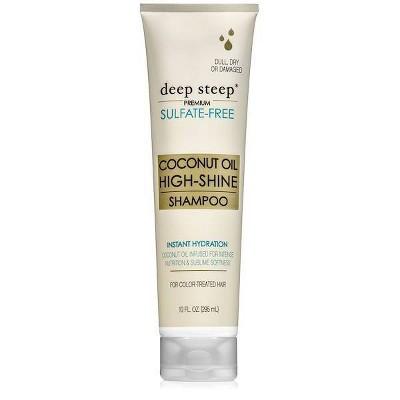 Deep Steep Coconut Oil High Shine Shampoo - 10 fl oz