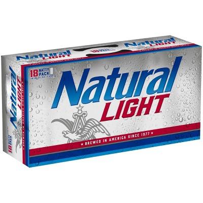 Natural Light Beer - 18pk/12 fl oz Cans