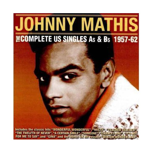 Johnny Mathis - Complete U.S. Singles As & Bs: 1957-1962 (CD) - image 1 of 1