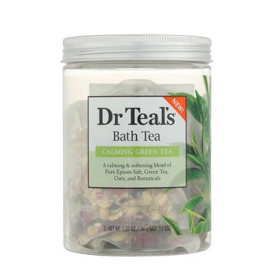 Dr Teal's Calming Green Tea Bath Tea - 3ct