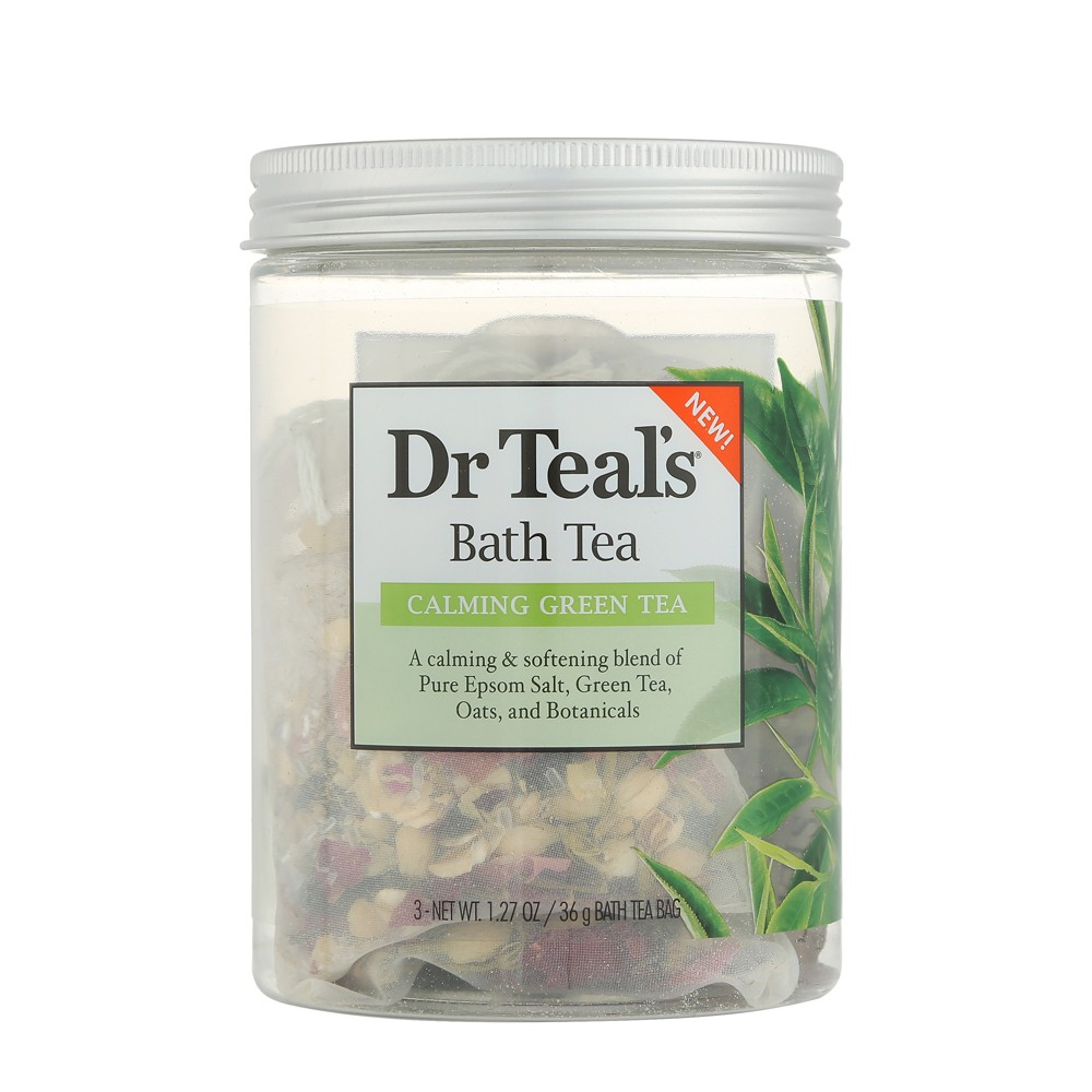Image of Dr Teal's Calming Green Tea Bath Tea - 3ct