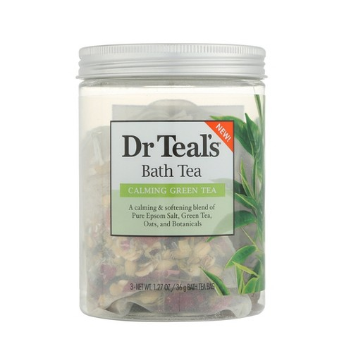 Dr Teal's Calming Green Tea Bath Tea - 3ct - image 1 of 3