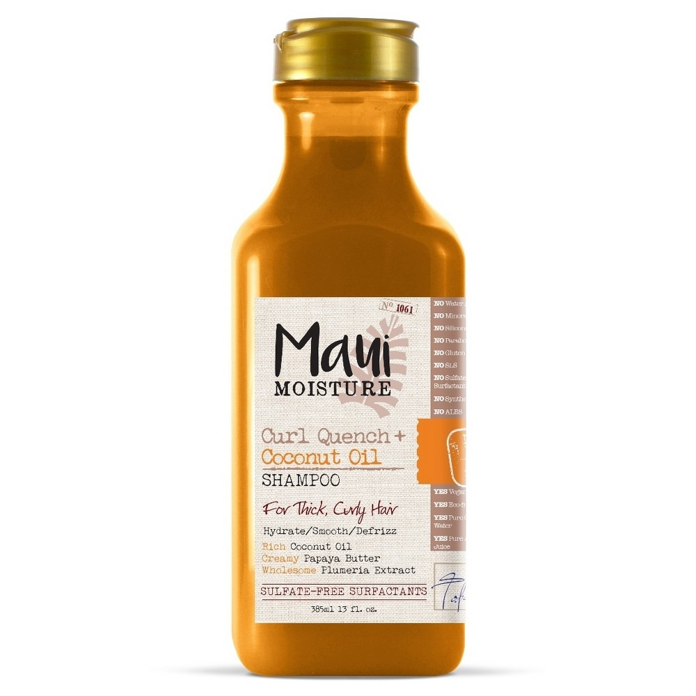 Image of Maui Moisture Curl Quench + Coconut Oil for Thick Curly Hair Shampoo - 13 fl oz