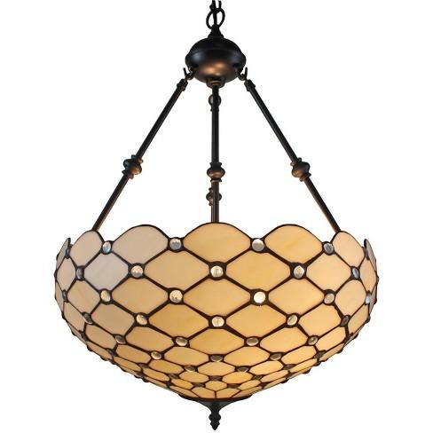 "Amora Lighting AM1117HL18 2 Light 18"" Wide Pendant - image 1 of 1"