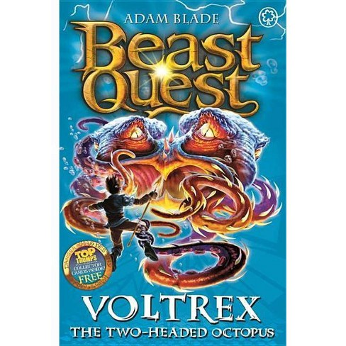Voltrex the Two-Headed Octopus - (Beast Quest) by  Adam Blade (Paperback) - image 1 of 1