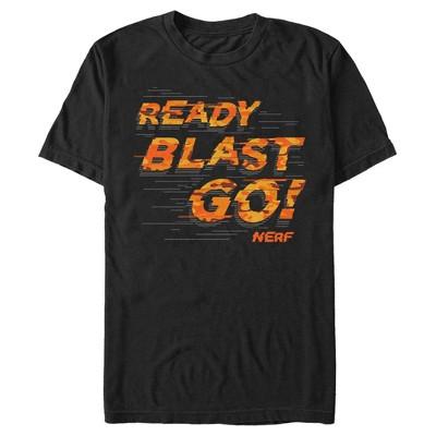 Men's Nerf Orange Ready Blast Go T-Shirt