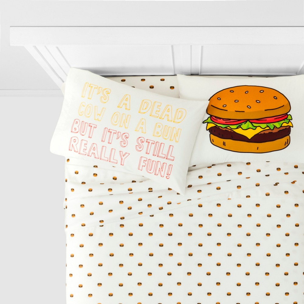 Image of Bob's Burgers Queen Sheet Set