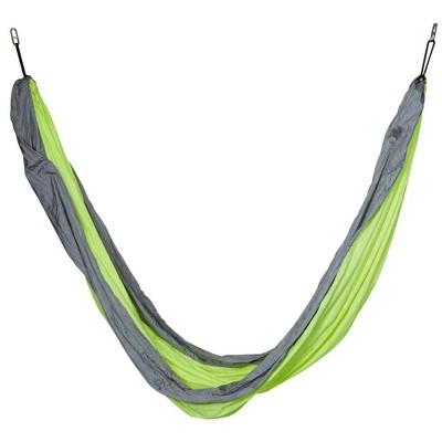 Nylon Camping Hammock - Colibri Lime - Sol Living