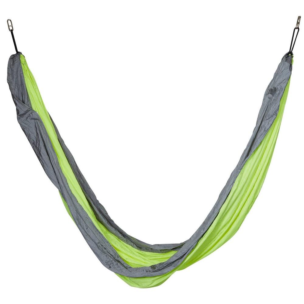 Nylon Camping Hammock Colibri Lime Sol Living