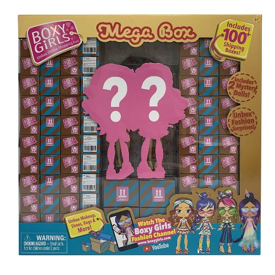 Boxy Girls Mega Box, fashion dolls image number null