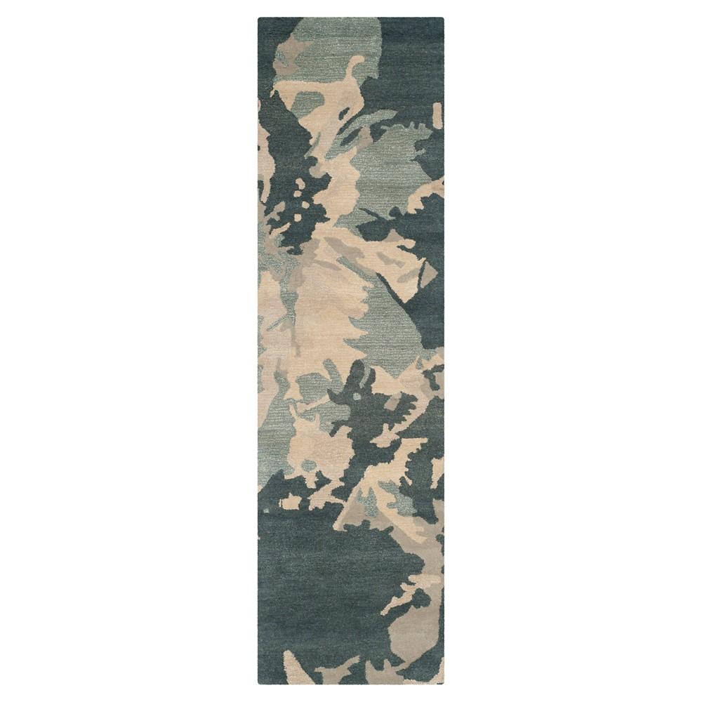 Best Allegra Runner - Steel Blue ( 2 3 X 8 ) - Safavieh